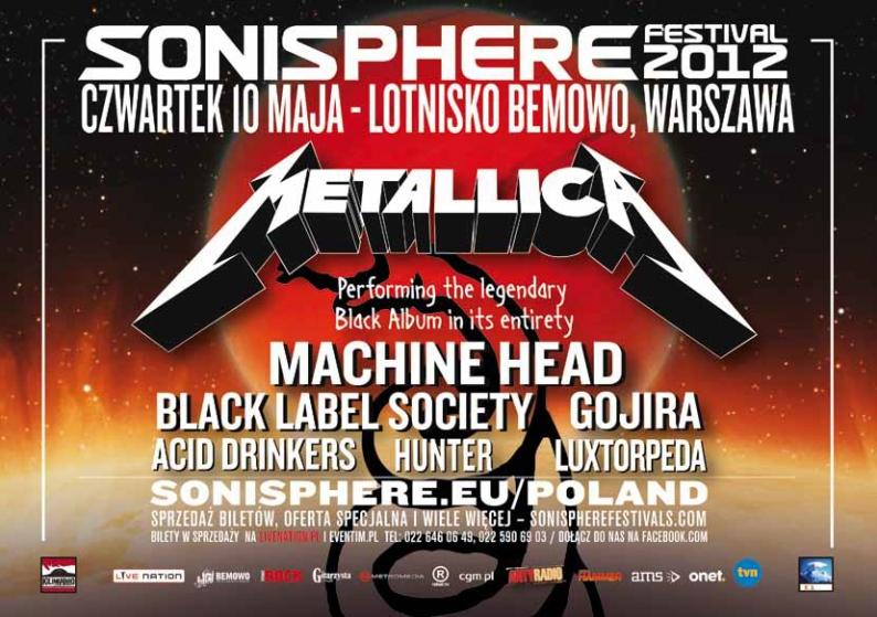 Sonisphere Festival 2012 oczami redaktora TG