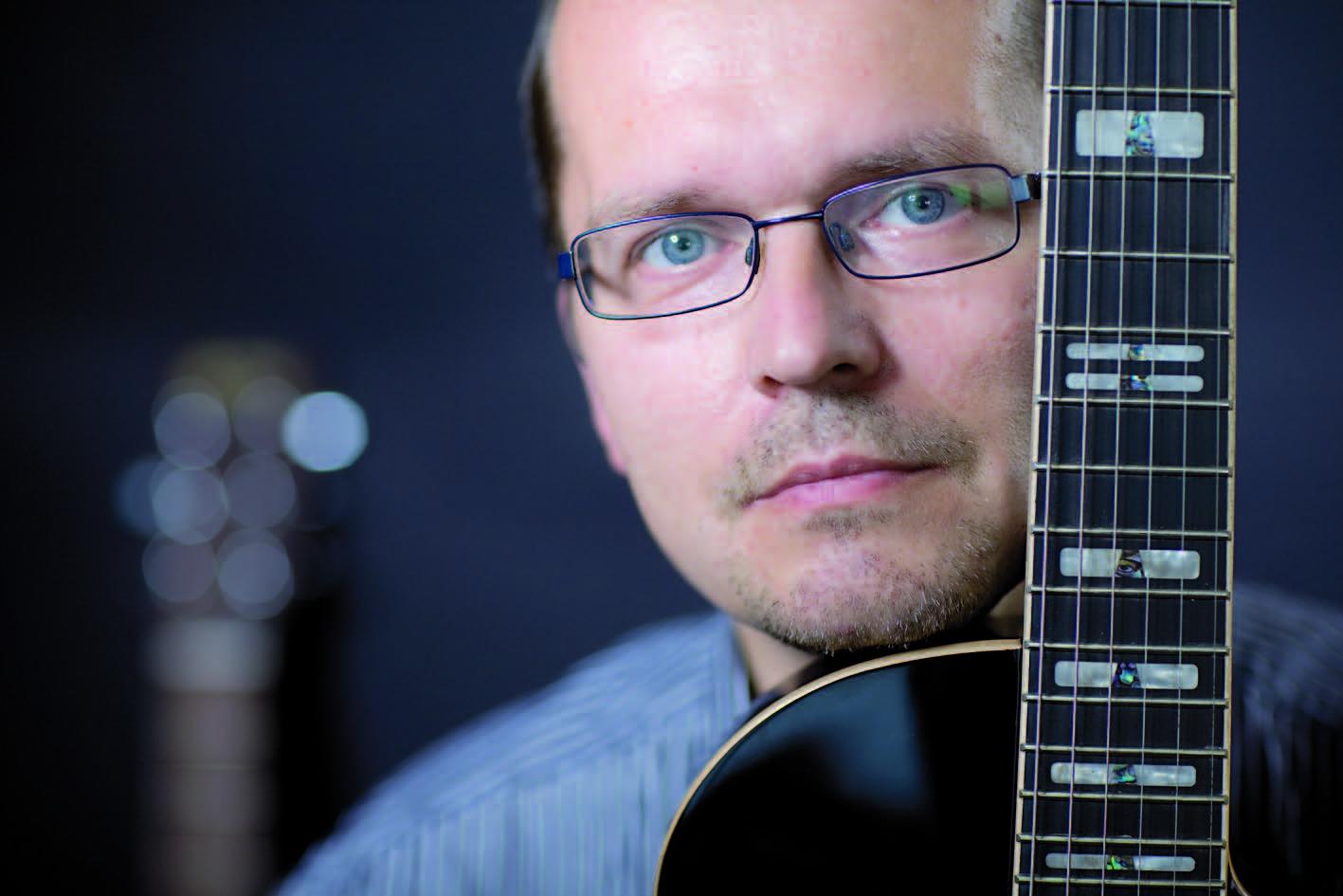 Dariusz Domański, redaktor naczelny TopGuitar