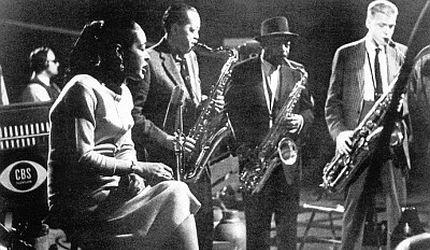 Billie Holiday z zespołem