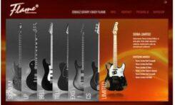 Nowa strona gitar Flame