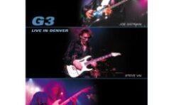 "G3 – Satriani/Vai/Malmsteen ""Live In Denver"" DVD"