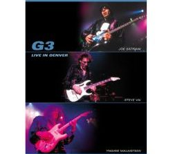 "G3 – Satriani/Vai/Malmsteen ""Live In Denver"" DVD"