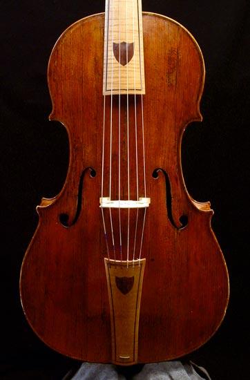 Viola da gamba, Gianbattista Grancino, 1697
