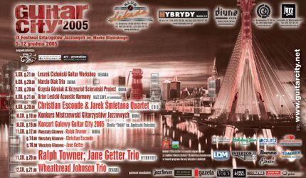 Festiwal Gitarzystów Jazzowych Guitar City 2005