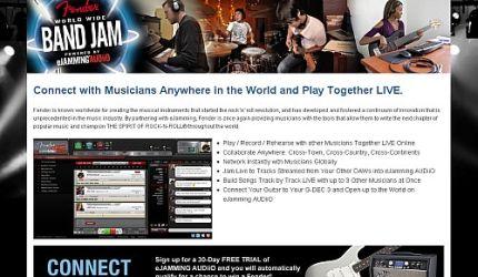 Z Fenderem jammujemy online!