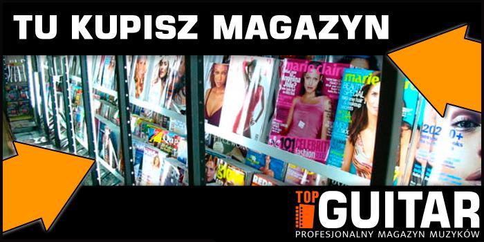 Magazyn dla gitarzystów. Prenumerata, numery archiwalne. Promocja