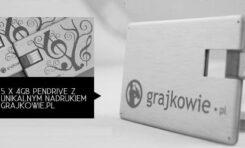 Eleganckie pamięci USB do wygrania na Grajkowie.pl
