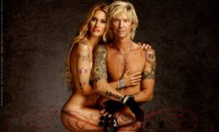 Duff McKagan i Susan Holmes nago