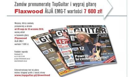 Wygraj gitarę elektryczną Flaxwood