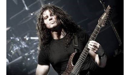 Spotkanie z Chrisem Broderickiem z Megadeth
