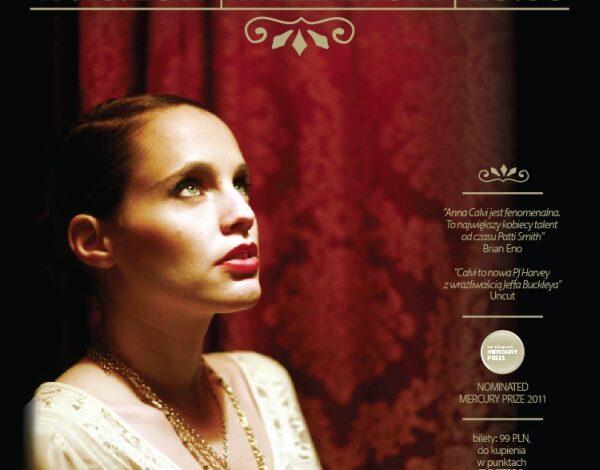 Bilet na koncert Anny Calvi w specjalnym pakiecie z płytą!