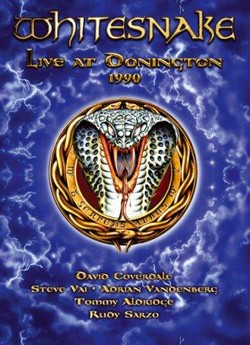 "WHITESNAKE ""Live At Donington 1990"" DVD"