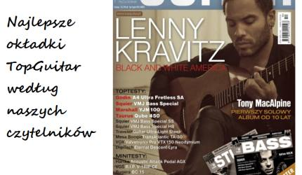 Wybraliście najlepszą okładkę 2011 roku magazynu TopGuitar