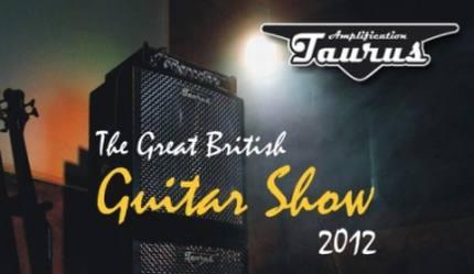 Taurus Amp na The Great British Guitar Show w Birmingham UK