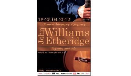 Duet John Williams oraz John Etheridge po raz pierwszy w Polsce