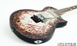 ESP RZK-II Richard Z. Kruspe Distressed - gitara elektryczna