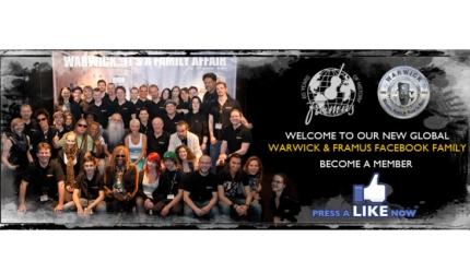Nowa wspólna strona Warwicka i Framusa na Facebooku