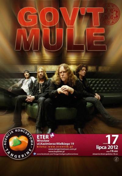 GOV'T MULE na jedynym koncercie w Polsce