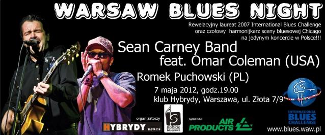 Już dzisiaj Blues Night w Warszawie
