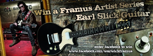Wygraj gitarę Framus Earl Slick Artist Series