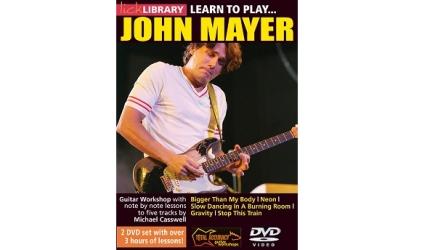 Wygraj podwójne DVD o grze Johna Mayera