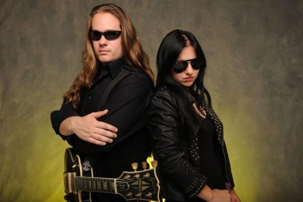 Will Wallner & Vivien Vain w Metal Mind Productions.
