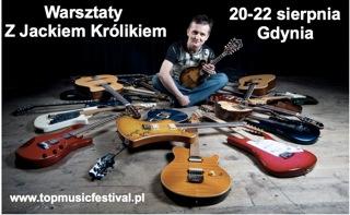 Warsztaty gitarowe z Jackiem Królikiem w Gdyni