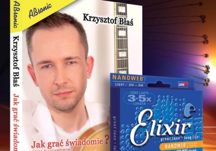 Nowe DVD Krzysztofa Błasia w komplecie ze strunami Elixir