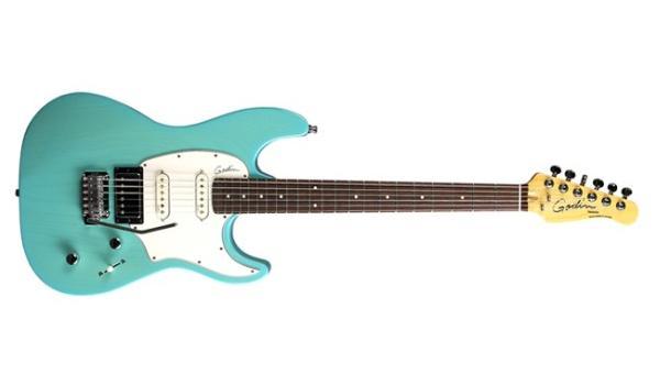 Gitara Godin Session Coral Blue Custom LE