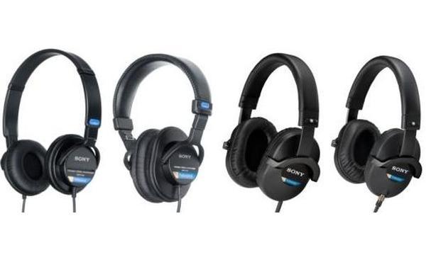 Profesjonalne słuchawki studyjne od Sony