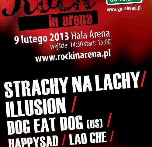 Kolejna edycja Rock In Arena już 9 lutego 2013