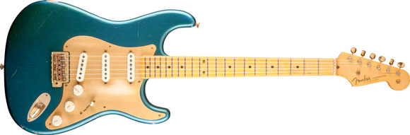 Fender Stratocaster – nowości Custom Shop 2013