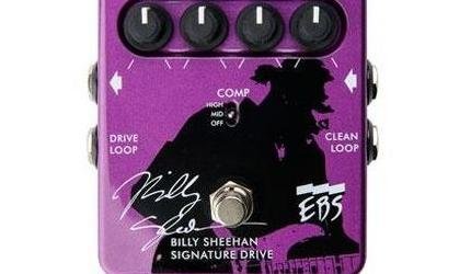 NAMM Show 2013: EBS Billy Sheehan Signature Drive