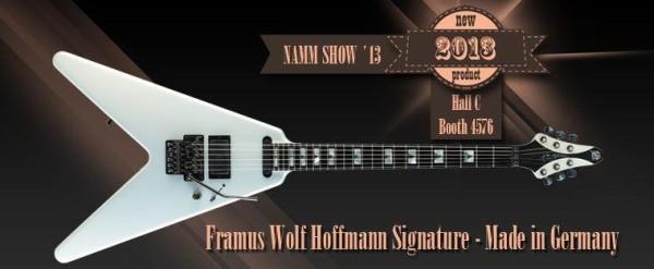 Framus Wolf Hoffmann signature V