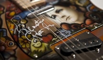 Gitara jak malowana w XXI Finale WOŚP
