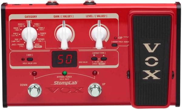 Efekty gitarowe i basowe VOX StompLab II
