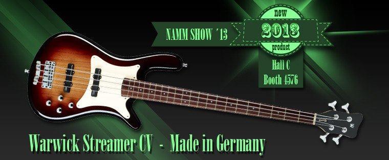 Warwick CV bass