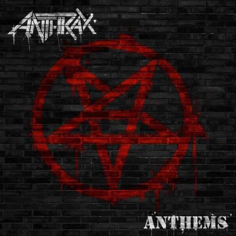 Okładka EP-ki Anthrax Anthems