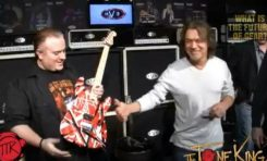 Raport NAMM Show 2013: gitarzysta Eddie Van Halen na targach