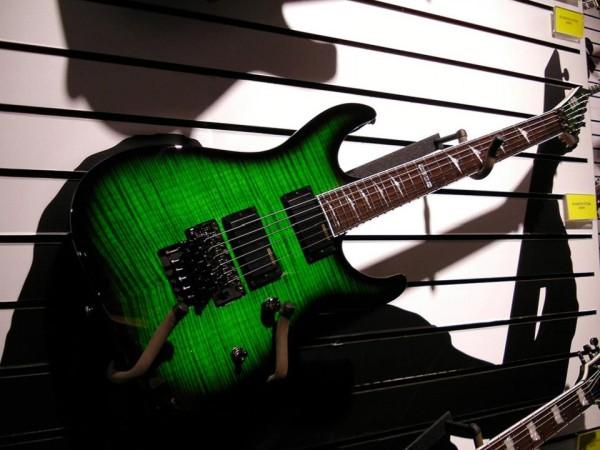 Stoisko producenta gitar ESP podczas NAMM Show 2013