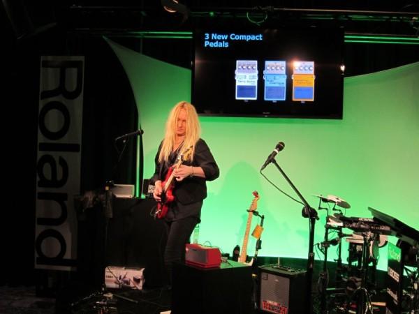 NAMM Show 2013 - Roland