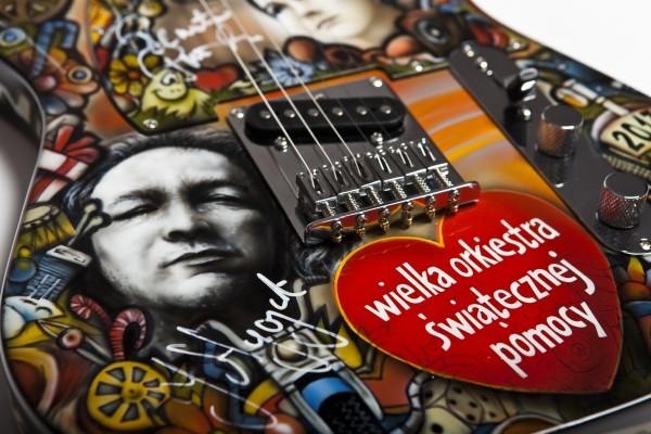 Gitara dla WOŚP