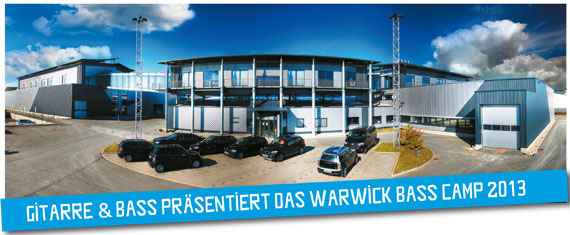 Warwick zapowiada Bass Camp 2013