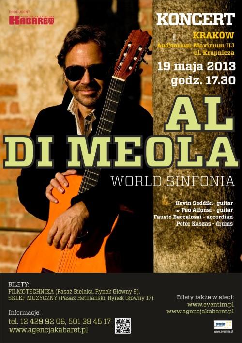 Al Di Meola w Krakowie