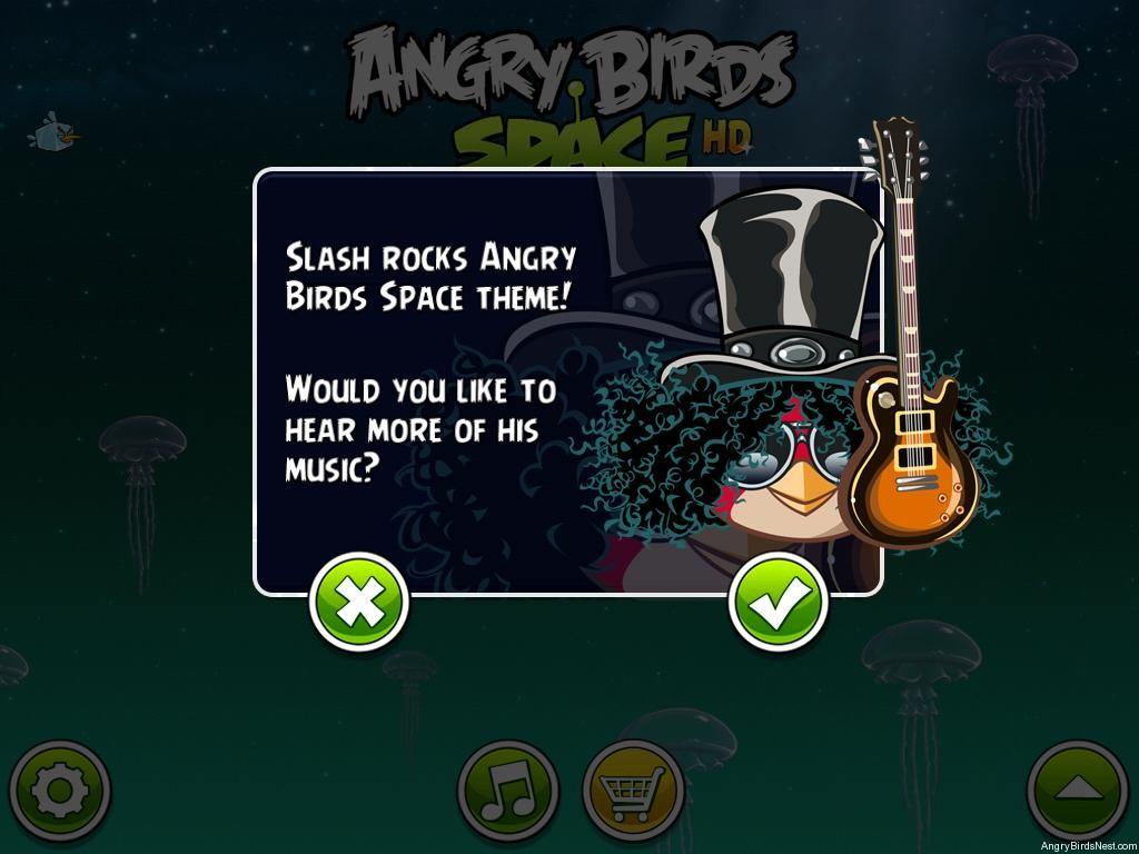 "Slash nagrał temat do gry ""Angry Birds Space"""