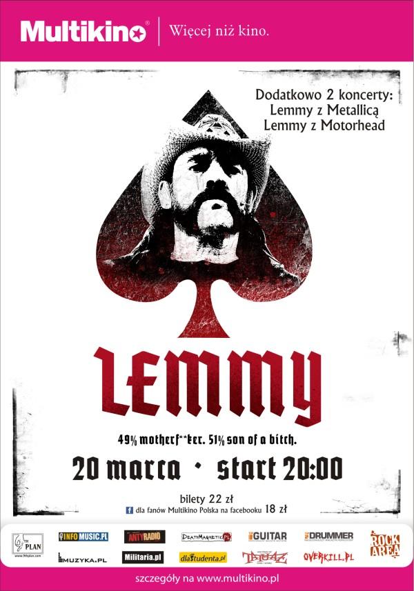 Lemmy The Movie Multikino