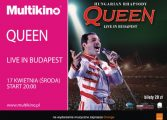 Hungarian Rhapsody: Queen Live In Budapest '86 w Multikinie