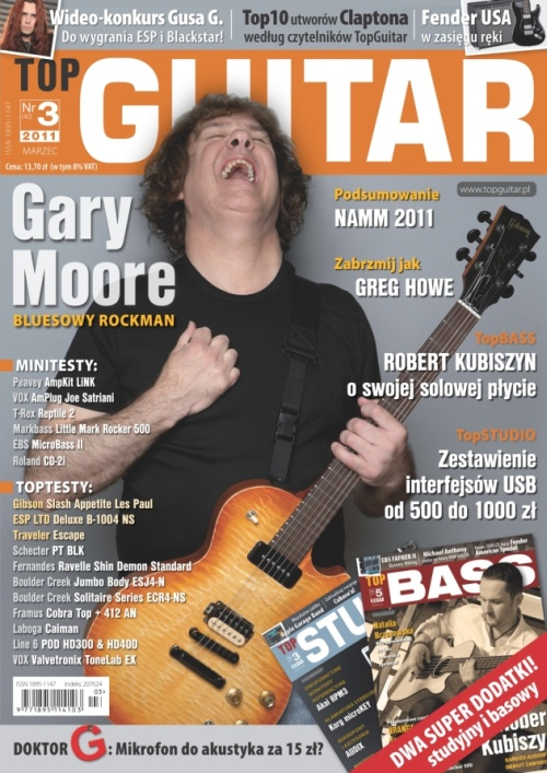 Gary Moore w TopGuitar