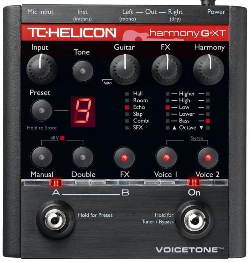 TC Helicon Harmony G-XT