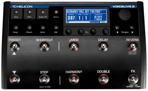 Promocja procesorów wokalowych TC Helicon